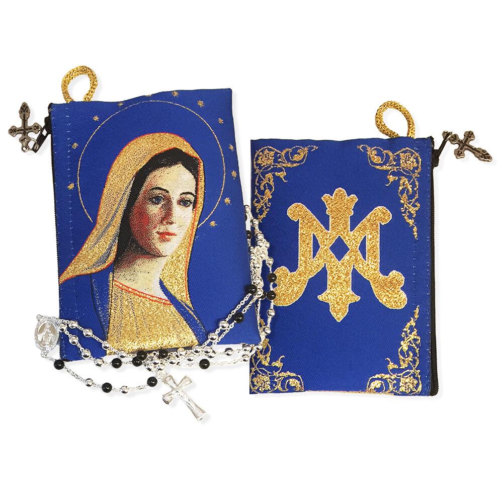 Tip54 Reversible Virgin Of Grace On The Back Side Symbol Of