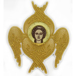 "EMB-SER  Embroidered Emblem to Decorate Vestment 5""x4 1/4"""