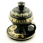 "ANA104KBL INCENSE BURNER W/TOP 4 1/2""x3 1/2"""