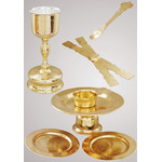 3210010 Chalice Set 0.5 Litr Sterling Silver Cup Liner Gold Plated