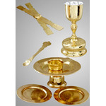 3210017 Chalice Set 0.75 Litr Sterling Silver Cup Liner Gold Plated