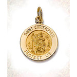 M45 St. Christopher Medal 1/2""