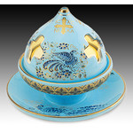 ANA302T  Byzantine Ceramic Votive Lamp Incense Burner NEW