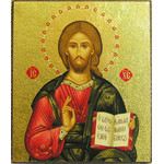 "TMS305A Christ The Teacher Icon Magnet 2 1/4""x2"""