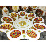SK-15 Egg Plate Pascha (Easter) Table Collection NEW!! 10 1/4""