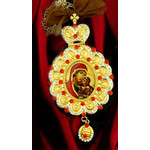 M-10-A St Ann Icon Pendant Room Car Christmas Tree Decoration w Chain