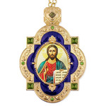 M-7B-15 Christ The Teacher Framed Icon Pendant For Wall Room Decoration Gift Idea NEW!