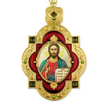 M-7R-15  Christ The Teacher Framed Icon Pendant For Wall Room Decoration Gift Idea NEW!
