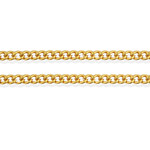 GPBM-20 Gold Plated Base Metal Chain Very Good Quality!! 18""
