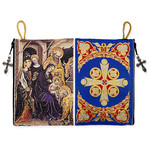 TIP14 Nativity of Christ Rosary / Prayer Rope Tapestry Icon Case Pouch NEW!!
