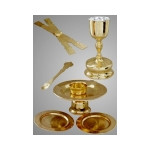 3210022 Chalice Set 1.0 Litr Sterling Silver Cup Liner Gold Plated