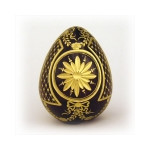 """4-10R IMPERIAL FLORAL CRYSTAL EGG 3 1/2""""x2 1/2"""""""
