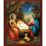 "28/153 Nativity of Christ 3""x2 1/2"""