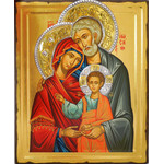 "TS483B Holy Family Serigraph Icon From Greece 5""x4"""