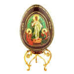 """IED-10R  Resurrection of Christ. New Icon Egg!! 7"""""""