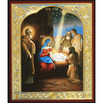 "28/129  Resurrection of Christ  3""x2 1/2"""