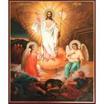 "IR-725 Resurrection Pascha Icon 9""x7 1/4"""