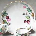 """L39 Cherry Desert Plate Lomonosov Porcelain 6"""""""