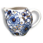 L6589 Lomonosov porcelain 'Winding Twig' Large Tea Pot