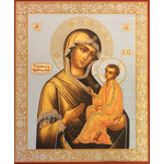 "IR128 Virgin of Tikhvin 7.25""x8.75"""