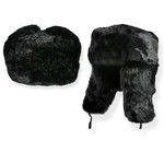 6853 Russian Black Fur Hat