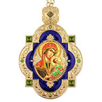 M-7B-64  Madonna & Child Framed Icon Pendant For Wall Room Decoration Gift Idea NEW!