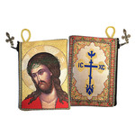 "TIP1 Christ Bridegroom/Extreme Humility Icon Pouch 5 3/8""x4"" NEW!!"