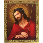 "IR-723 Virgin of Vladimir NEW Gold Foil Icon 9""x7 1/4"""