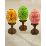 7012 Assorted Colorful Ukranian Pysanki Eggs!