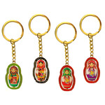 AKM-12 Reversible  Matreshka Key Chain NEW!!   Set of 4