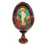 IED-10R  Resurrection of Christ. New Icon Egg!! 7""