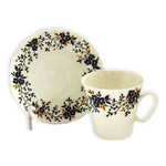 L10809 Get 4 Cups- 1 Cup is for FREE !!    LOMONOSOV BONE CHINA Hand Decorated in St Petersburg