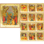 IR-235A FEAST DAY ICON SET - 13 ICONS