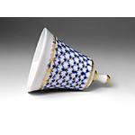 L7118 Lomonosov Cobalt Net porcelain Dinner Bell