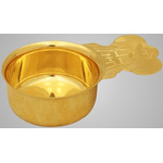 3220038 ZION CUP/GOLD PLATED