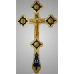 "3380040 CROSS/GOLD PLATED 18""x10"""