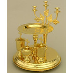 3110005 LITYA TRAY GOLD PLATING