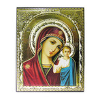 "IR-399 VIRGIN OF KAZAN GOLD FOIL EMBOSSED NEW! 5""x4"""