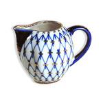 L2187C Lomonosov porcelain Cobalt Net Small Creamer