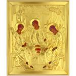 "IR-327 Holy Trinity Gold Riza 5 1/4""x4 1/2"""