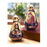 "ANA90B Holy Water Container 4""x2 1/2"""