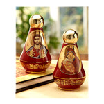 """ANA90R Holy Water Container 4""""x2 1/2"""""""