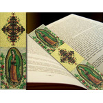 """TBM84 Lady of Guadalupe Tapestry Icon Book Marker 9 1/8""""x2"""""""