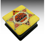 "RBX-51 Star of David ""Shalom"" Judaica Hand Painted Box"