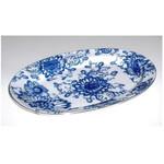 L5737 Lomonosov Porcelain 'Singing Garden' Oval Platter