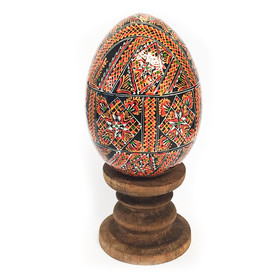 7012 Assorted Colorful Ukranian Pysanki Eggs!