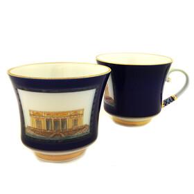 "L15770 Coffee Cup & Saucer ""Banquet"""